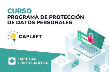 Curso del programa de protección de datos personales